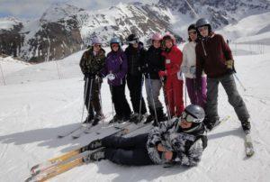 aumôneire des jeunes ski