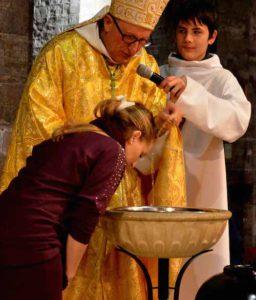baptême eveque