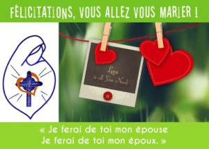 Flyer mariage