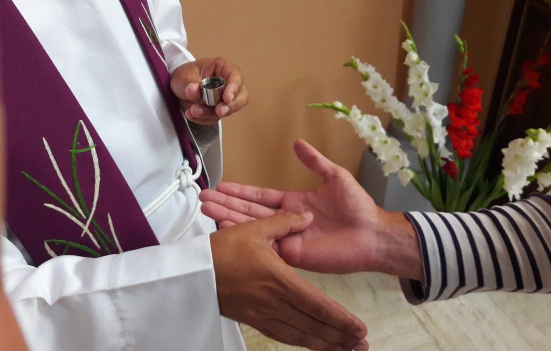 Onction des malades Saint-François-de-Paule